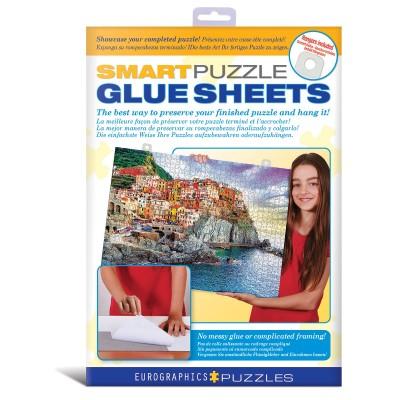 Puzzle Eurographics-8955-0101 Feuilles de colle intelligente