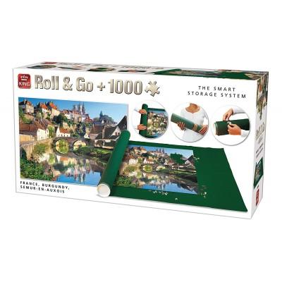 Puzzle King-Puzzle-05340 Roll & Go - Semur-en-Auxois, France
