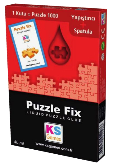 KS-Games-T228 Colle pour Puzzle 1000 pièces - 40 ml