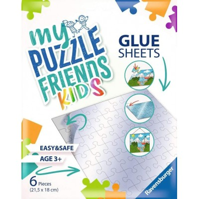 Ravensburger-13301 My Puzzle Friends Glue Sheets