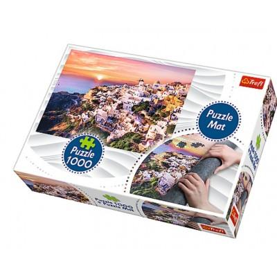 Trefl-90722 Tapis + Puzzle - Italie